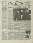The Echo: September 8, 2000 by Taylor University