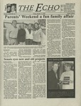 The Echo: October 13, 2000 by Taylor University