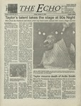 The Echo: October 27, 2000 by Taylor University