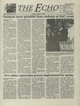 The Echo: November 3, 2000 by Taylor University