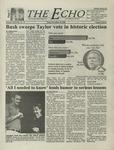 The Echo: November 10, 2000 by Taylor University