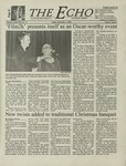 The Echo: December 1, 2000 by Taylor University