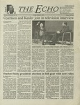 The Echo: March 2, 2001 by Taylor University