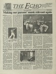The Echo: March 9, 2001 by Taylor University