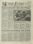 The Echo: August 31, 2001 by Taylor University