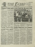 The Echo: September 7, 2001 by Taylor University