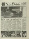 The Echo: September 14, 2001 by Taylor University