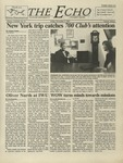 The Echo: November 9, 2001 by Taylor University