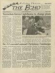 The Echo: November 30, 2001 by Taylor University