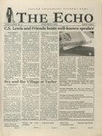 The Echo: March 1, 2002 by Taylor University