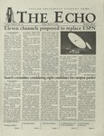 The Echo: March 8, 2002 by Taylor University