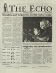 The Echo: March 15, 2002 by Taylor University