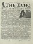 The Echo: April 5, 2002 by Taylor University