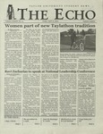 The Echo: April 12, 2002 by Taylor University