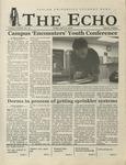 The Echo: April 19, 2002 by Taylor University
