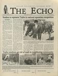 The Echo: April 26, 2002 by Taylor University