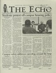 The Echo: May 3, 2002 by Taylor University