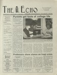 The Echo: October 4, 2002 by Taylor University