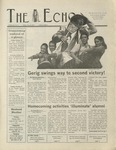 The Echo: October 25, 2002 by Taylor University