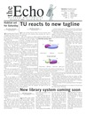 The Echo: October 17, 2003 by Taylor University