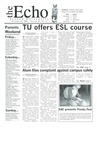 The Echo: October 31, 2003 by Taylor University