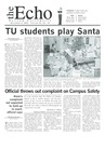 The Echo: December 5, 2003 by Taylor University