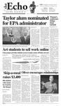 The Echo: March 11, 2005 by Taylor University