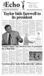 The Echo: May 13, 2005 by Taylor University