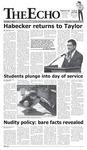 The Echo: September 2, 2005 by Taylor University