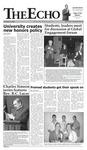 The Echo: November 3, 2006 by Taylor University