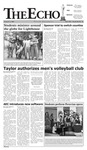 The Echo: February 2, 2007 by Taylor University