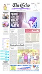 The Echo: May 8, 2015 by Taylor University