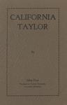 California Taylor by John Paul