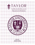Taylor University Graduate Catalog 2010-11