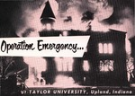 Operation Emergency . . . at Taylor University, Upland, Indiana (1960)