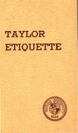 Highlights of Taylor Etiquette by Taylor University
