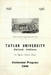 ART - Centennial Program Poster (1946)