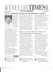 Taylor Times: January 8, 1999