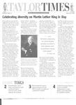 Taylor Times: January 9, 1998