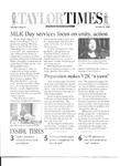 Taylor Times: January 21, 2000