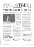 Taylor Times: March 14, 2000