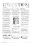 Taylor Times: March 31, 2000