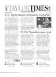 Taylor Times: April 1, 1999