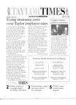 Taylor Times: April 16, 1999