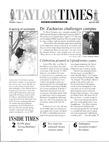 Taylor Times: April 26, 2002