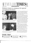 Taylor Times: May 11, 2001