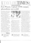 Taylor Times: May 15, 1998