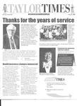 Taylor Times: May 16, 1997