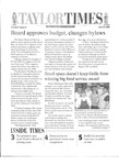 Taylor Times: June 23, 2000