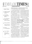 Taylor Times: June 25, 2004 by Taylor University